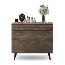 Norloti 3 Drawer Dresser