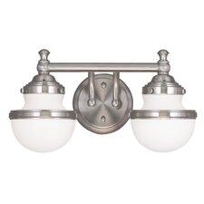 Montpelier 2-Light Vanity Light