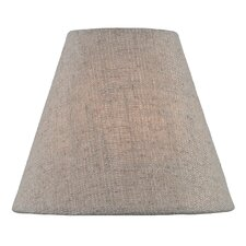 """Coolie 6"""" Fabric Empire Lamp Shade"""