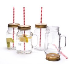 620ml Mason Jar (Set of 4)