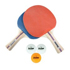 5 Piece Paddle and Ball Set