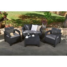 Berard 4 Piece Seating Group with Cushions