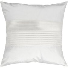 Grullo Pleated Throw Pillow Cover
