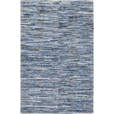 Rosanna Hand-Crafted Denim Area Rug