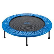 """Two-Way Foldable Rebounder 40"""" Trampoline with Carry-on Bag"""