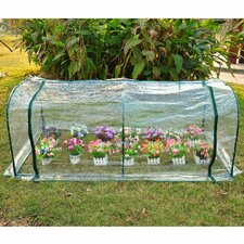 Poly Tunnel 2m W x 1m D Mini Greenhouse