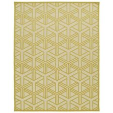 Bainsbury Gold Indoor/Outdoor Area Rug