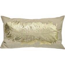 Anacletus Metallic Feather Lumbar Pillow