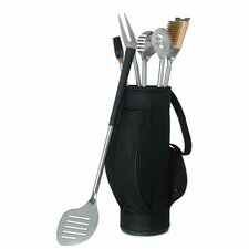 5 Piece Grilling Tool Set