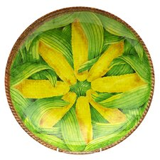 Verdura 64 oz. Melamine Corn Shallow Bowl