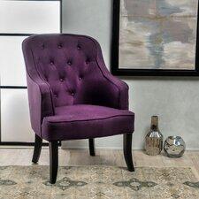 Darryl Fabric Wingback Chair