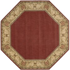 Gerstle Brick/Red Area Rug