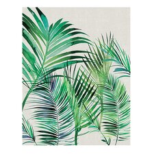 'Palm Leaves' by Summer Thornton Painting Print