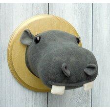 Hippo Faux Taxidermy 3D Wall Décor