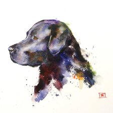 'Dog' Painting Print on Wrapped Canvas