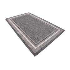 Kennedy Black Outdoor Area Rug