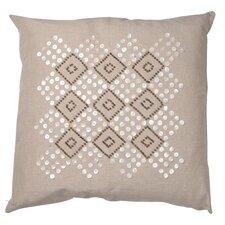 Greene Cotton Linen Throw Pillow