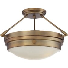Aralene 2-Light Semi-Flush Mount