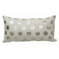 Emma and Violet Foil Dots Lumbar Pillow