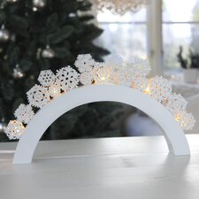 Snowfall LED 5 Light Table Lamp