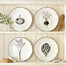 Feltwell Vegetable Plates (Set of 4)
