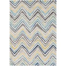 Evangelina Blue/Gray Area Rug