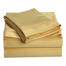 Patric 1000 Thread Count 100% Egyptian-Quality Cotton Sheet Set