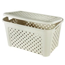 Arianna Laundry Basket with Lid