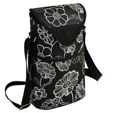 Night Bloom Wine/Water Bottle Tote Bag