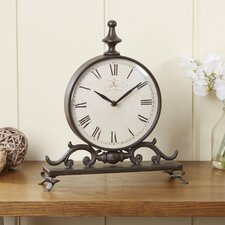 Mabey Iron Table Clock