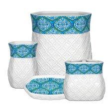 Dena Tangier 4-Piece Bathroom Accessory Set