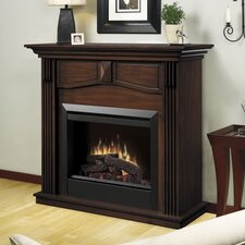 "Electraflame Holbrook 44"" TV Stand with Electric Fireplace"