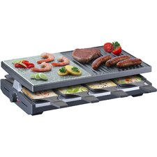 Multi Raclette with Stone and Cast Plate
