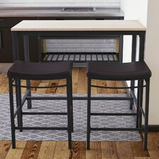 Bezons 3 Piece Pub Table Set
