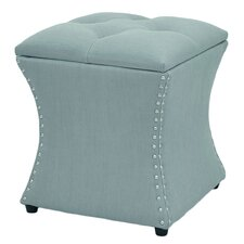 Augustine Upholstered Storage Ottoman