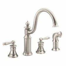 Waterhill Double Handle Kitchen Faucet