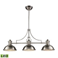 Susan 3-Light Pool Table Light