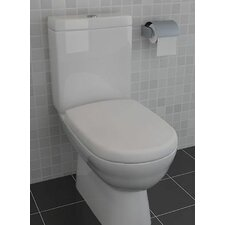 Closed Couple Toilet with Soft Close Seat