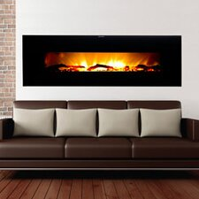 Valencia Extra Wide Wall Mount Electric Fireplace