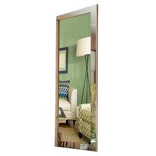 Modern Chrome Floor Mirror