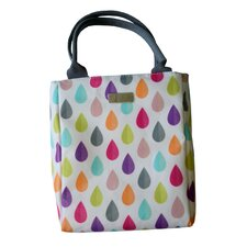 Raindrop Lunch Tote