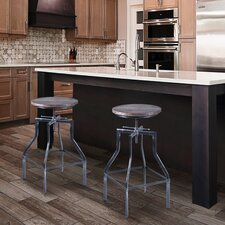 Edgartown Adjustable Height Swivel Bar Stool