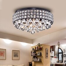 Cuddy 4-Light Flush Mount