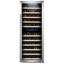 73 Bottle Dual Zone Freestanding Wine Cooler