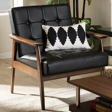 Baxton Studio Armchair in Black