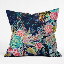 Night Bloomer Throw Pillow