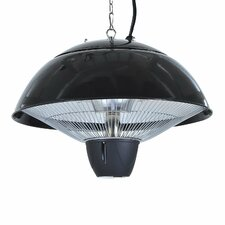 1500W Ceiling Mounted Electric Patio Heater with Remote Control
