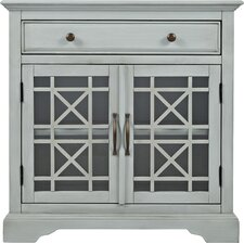 Daisi Wood Accent Cabinet