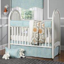 Greek Key 4 Piece Crib Bedding Set