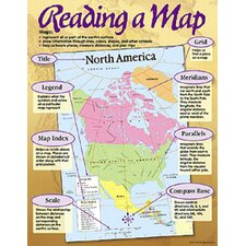 Reading A Map Chart (Set of 3)